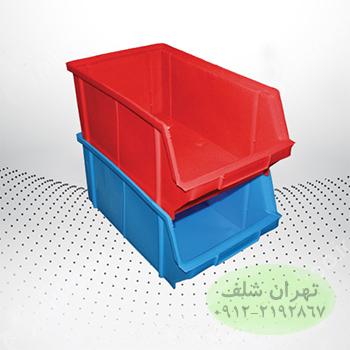 پالت پلاستیکی 145×210×350میلیمتری