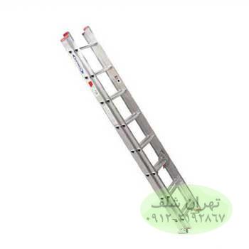 نردبان صنعتی کشویی ۱7 پله آلومینیومی