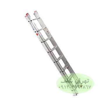 نردبان صنعتی کشویی ۱9 پله آلومینیومی