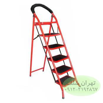 نردبان خانگی شش پله مدل a1
