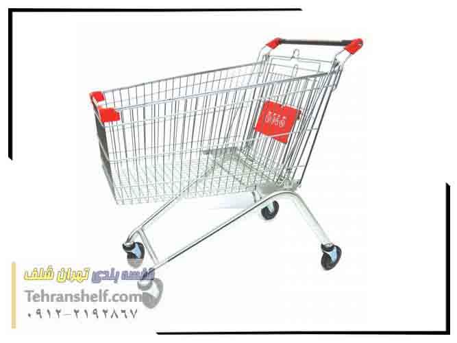 چرخ خرید فروشگاهی 60 لیتری