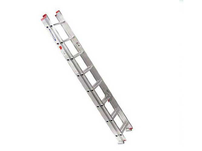 نردبان صنعتی کشویی 22 پله آلومینیومی
