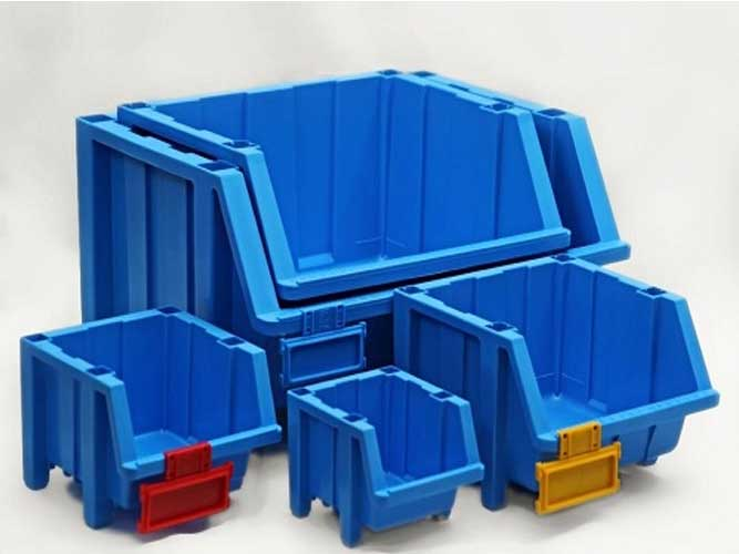 پالت پلاستیکی 175×290×359میلیمتری