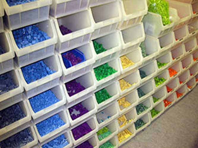 پالت پلاستیکی 95×130×190میلیمتری
