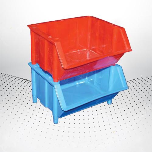 پالت پلاستیکی 80×140×150میلیمتری